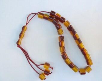 Bead Fidget Toy,Handmade worry bead,Greek komboloi,anti-stress toy