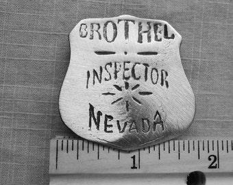 Brothel Inspector Nevada Badge