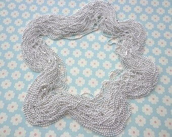 50 pcs Silver Ball Chain Necklaces - 18 inch, 2.0mm