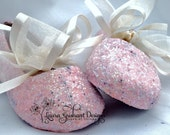 FLOWER GIRL SHOES~Glitter Shoes ~Shades of Pink~Blush Pink~Bubble Gum Pink~Hot Pink~Personal Service~Fast Shipping!