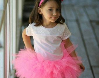 Baby Bright Pink Tutu Skirt