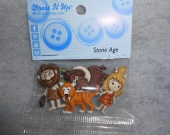Stone Age-Jesse James Novelty Buttons