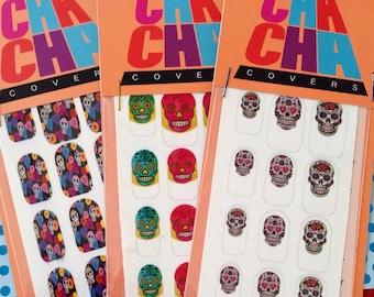 Sugar skull Love 3 pack set Nail Decals