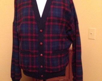 Vintage Pendleton Woolen Mills Jacket Cardigan Sweater