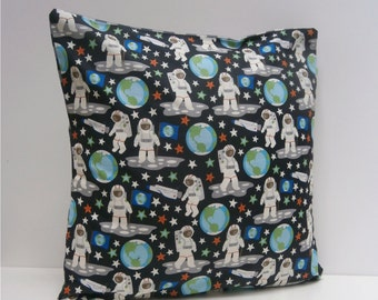 Spaceman Rocket Space Pillow / Cushion cover