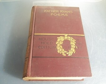 Father Ryans Poems by Abram Ryan 1888