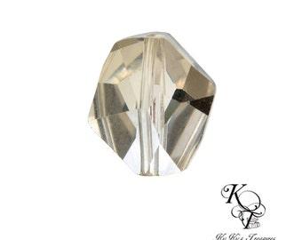 Swarovski Crystal Beads, Clear Crystal Beads, Geometric Beads, Swarovski Crystals, Cosmic Crystals, Jewelry Supplies, Austrian Crystals