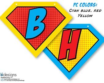 Superhero Symbol Banner (PC) Large INSTANT DOWNLOAD