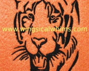 Tiger Digitized Machine Embroidery Design Animals