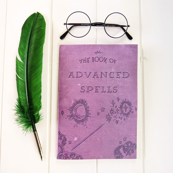 Advanced Spells A5 Notebook - Witches & Wizards - Back to School Gifts - Geek Gift - Notepad Jotter