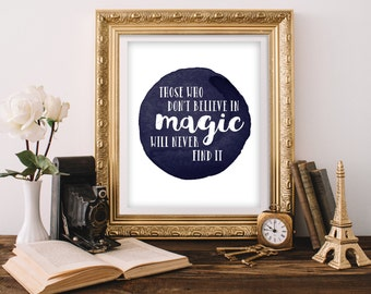 Wall Art Print - Printable Art - 8x10 Printable Quote - Dream Quote - Quote Printable - Digital Art - Inspirational Quote - Life Quote