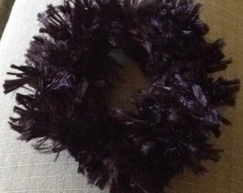 Black Fur Hairband