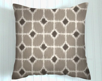 Pillows, Gray  Tan,    Pillow, Decorative Pillows,  Pillow Covers, Decorative Pillows, Cushion, Pillows, Throw Pillow,   Pillow
