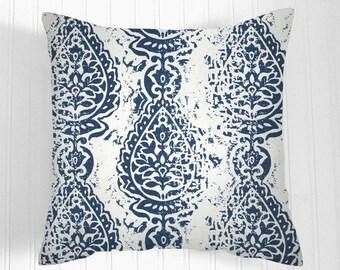 Pillows, navy blue  and white. Pillow, Decorative Pillows,   Pillow Covers, Decorative Pillows, Cushion, Pillows, Throw Pillow,   Pillow