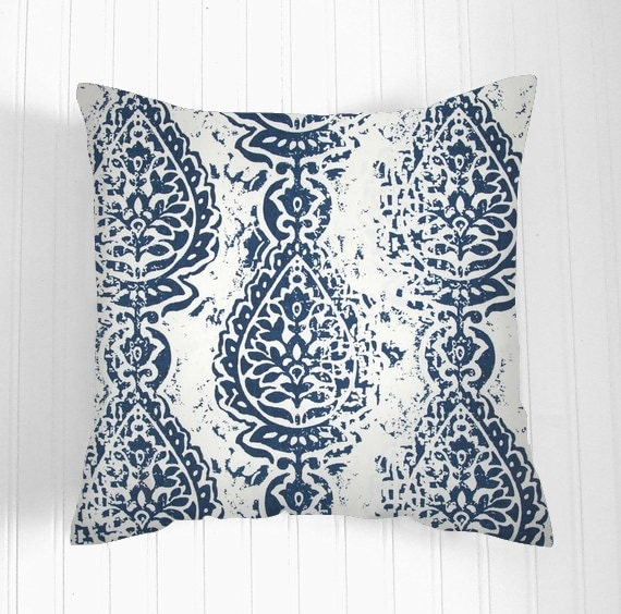 Pillows navy blue and white. Pillow Decorative Pillows
