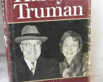 Harry S. Truman by Margaret Truman - Hardback Book 1973 - Book Has 28 Pages of Photographs