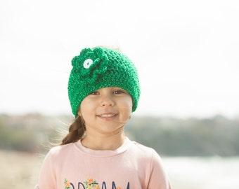 Crochet Ear Warmer - Crochet Head band - Crochet Flower - Ear Warmer - Green Ear Warmer, Crochet Sparkle ear warmer - Sparkle - Flower