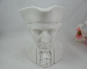 Vintage Mt Vernon George Washington Porcelain Creamer - Delightful