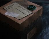 Explosion Box Travel Themed Ephemera Craft Kit
