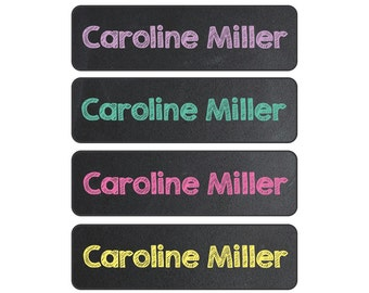 Daycare Labels -  Waterproof and Dishwasher Safe Labels, 4 Pre-made Designs
