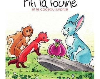 Gift Set Volume 3: Fifi la fouine et le cadeau surprise, children book, children edition and collection