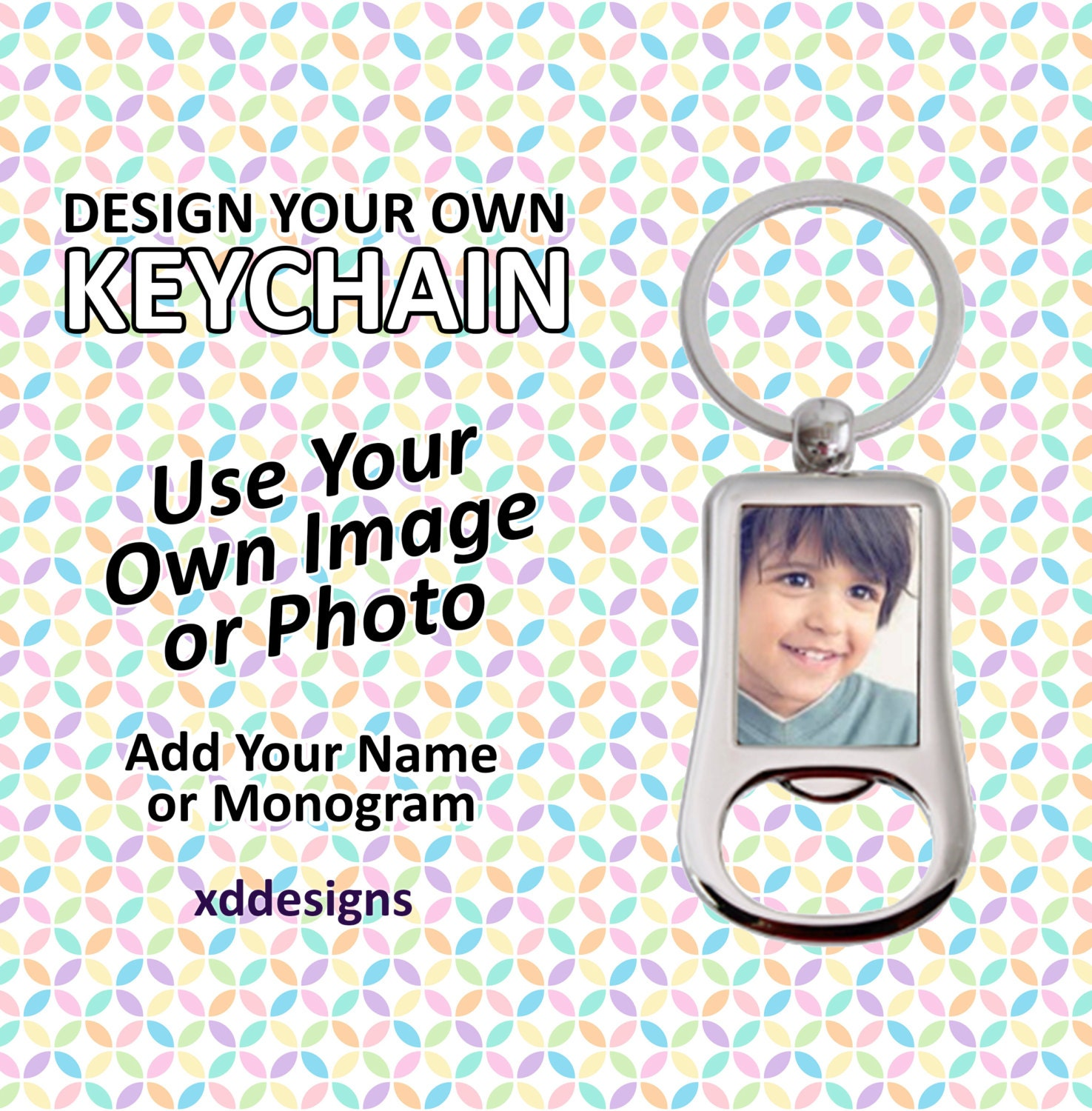 design your own bottle opener keychain custom by xddesigns. Black Bedroom Furniture Sets. Home Design Ideas