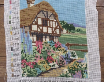 Completed Penelope Needlecraft - Green Acres - Made in England