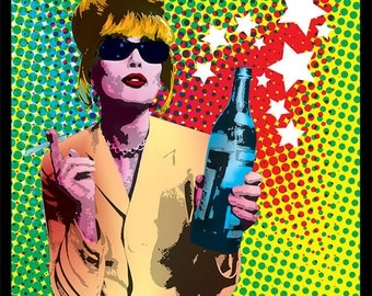 Patsy Stone Absolutely Fabulous print