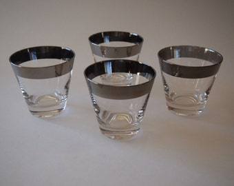 1960s Silver Band Glasses