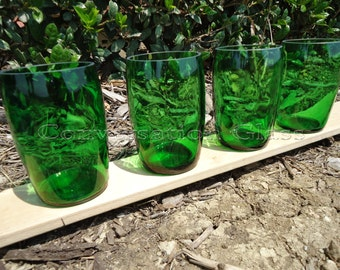 Perrier Bottle Glasses Set of 4