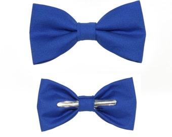 Ocean Blue Clip On Bow Tie - Men / Boys / Toddler