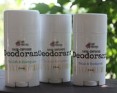 Botanical Blend Natural Deodorant : Herbal, Aluminum-Free, Preservative Free, Safe, and Effective!