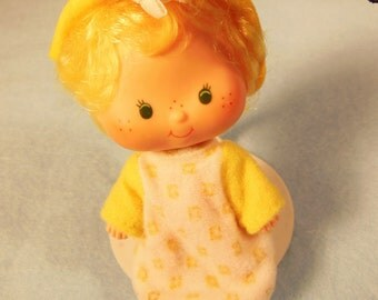 Vintage Strawberry Shortcake Doll-Butter Cookie-American Greetings-1979--
