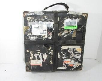 Vintage Film Reel Shipping Box Large Film Case