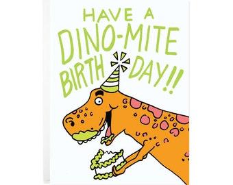 Have a Dino-Mite Birthday