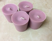 6 Soy Wax Fragranced Votives Lavender