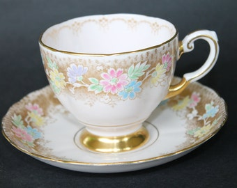 TUSCAN Fine Bone China Teacup and Saucer Set