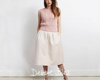 Debbie Bliss DB009 Luxury Silk DK Pattern Booklet Single Pattern
