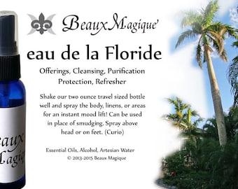 Florida Water Spray ~ eau de la Floride , road opener, rootwork, uncrossing, aura sprays, voodou, reiki, eau de floride, remove blockage
