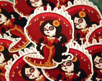 Book of Life La Muerta Sticker