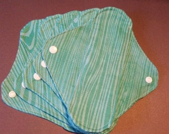 Five (5) - 7.5 in Cloth Panty Liner