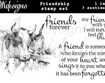 Friendship Digital Stamp Set