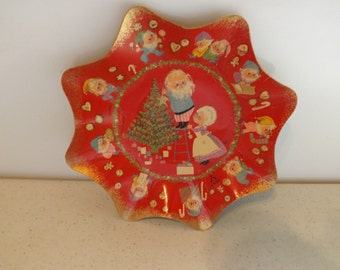 Unique Ambassador Cardboard Christmas Bowl Plate