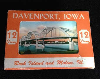 Vintage 1920's Unused Iowa Postcards