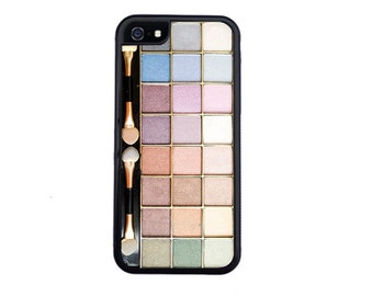 Pastel Eye Shadow Case Design For iPhone 4/4s, 5/5s, 5c, 6/6s, 6/6s Plus, 7 or 7 Plus.