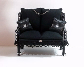 Gatsby Style Doll Sofa Barbie furniture