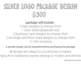 Silver Logo Package Design