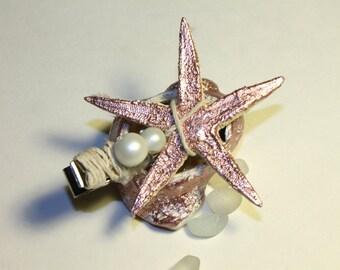 Metallic Pink Starfish