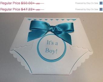sale 25  printed  baby shower diaper DIY invitations W/ white envelopes