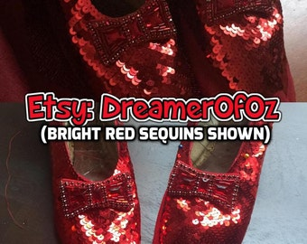 5mm Metallic Red Flat French Sequins - Hank of 10,000
